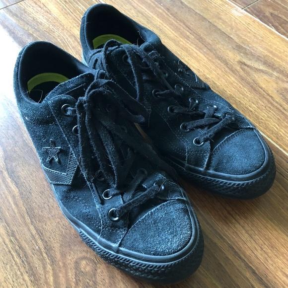 Parecer Campeonato académico  Converse Shoes   Converse One Star Black Suede W Nike Insoles   Poshmark
